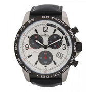 Bermuda Watch Co Warwick Black and White Chronograph Watch Mens