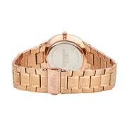 Hugo Schwarze Kahlo Rose Gold and White Bracelet Watch Mens