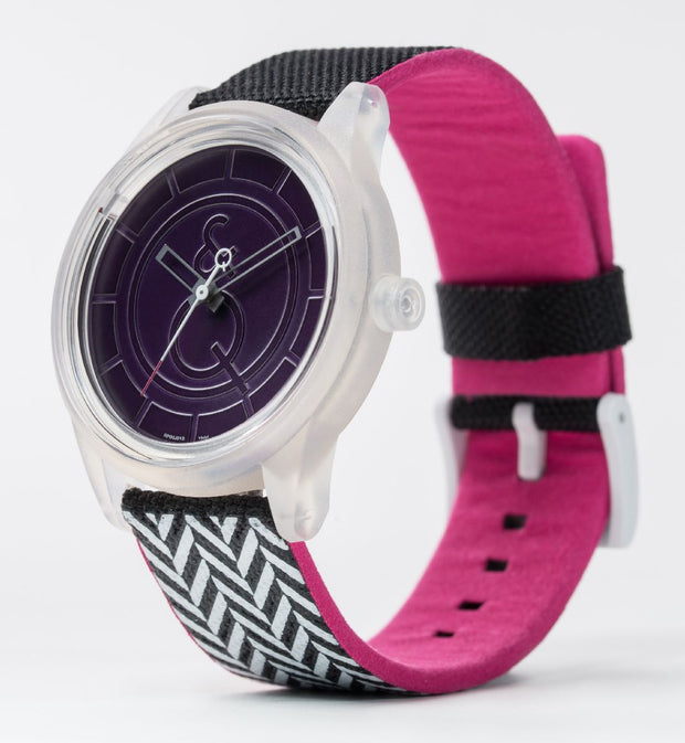 Q&Q Smile Solar Eco Friendly Watch Mens Ladies