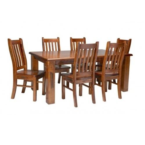 ALBURY 7PC  DINNING SETTING - First Choice Furniture