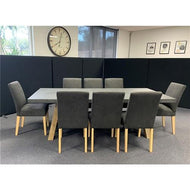 ANTON 9 Piece Dining Set- Liquorice dixiecummings