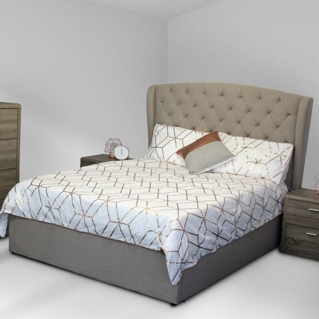 Metro Queen Quilted Bed