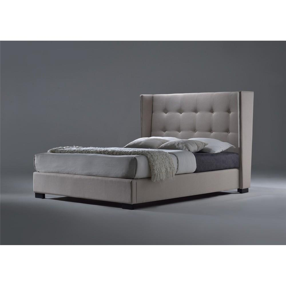 Bettino King Bed - Grey dixiecummings