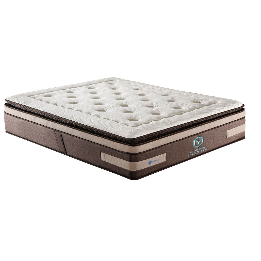 Dreamland  7 Zone Pocket Spring Premium Mattress eternal design