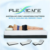 Flexicare Adjustable Mattress Gel Queen Split Medium/Soft - First Choice Furniture