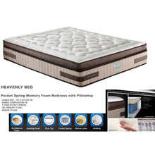 Load image into Gallery viewer, Heavenly  7 Zone Pocket Spring Premium Mattress eternal design