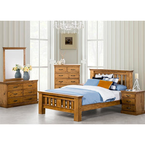 Kipling Queen Tallboy Bedroom Suite gl furniture