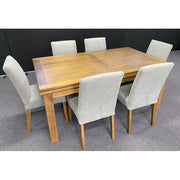 MADDISON EXTENSION DINING TABLE ASH/NATURAL ZL-OAK 180CM TO 280CM - First Choice Furniture