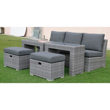 Load image into Gallery viewer, Polo 5pc Sofa Set-Dark Grey vivin