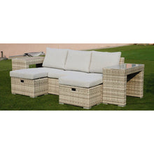 Load image into Gallery viewer, Polo 5pc Sofa Set-Light Grey vivin