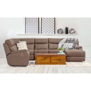 Porter 6 Seat Modular Lounge With Sofa Bed - Clay dixiecummings