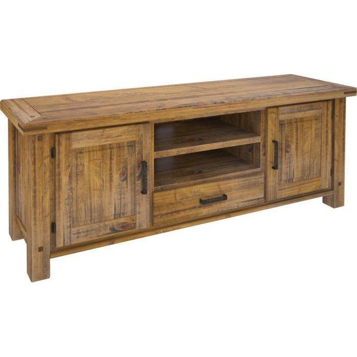 SETTLER TV UNIT WITH 2 DOORS, 1 DRAWER & 2 NICHES vivin