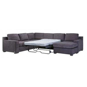 Shaw 6 Seater Modular with Sofa Bed Lounge dixiecummings