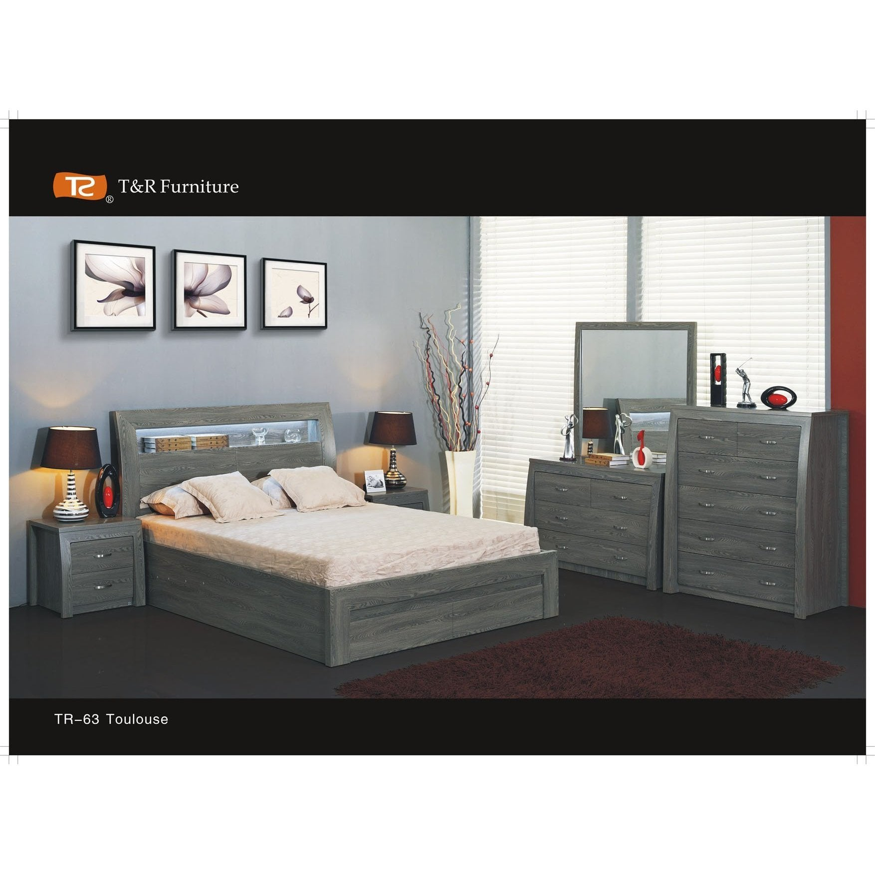 Toulouse Lift Dresser Bedroom Suite First Choice Furniture