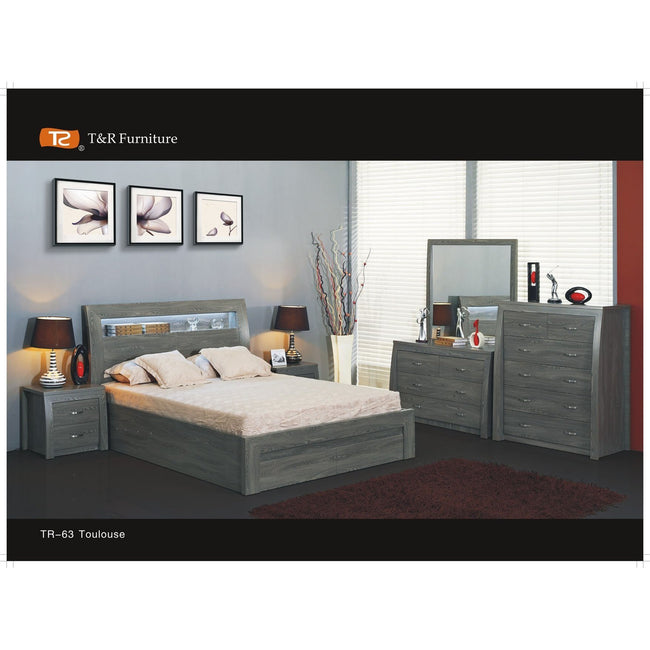 Toulouse Lift Tallboy Bedroom Suite - First Choice Furniture