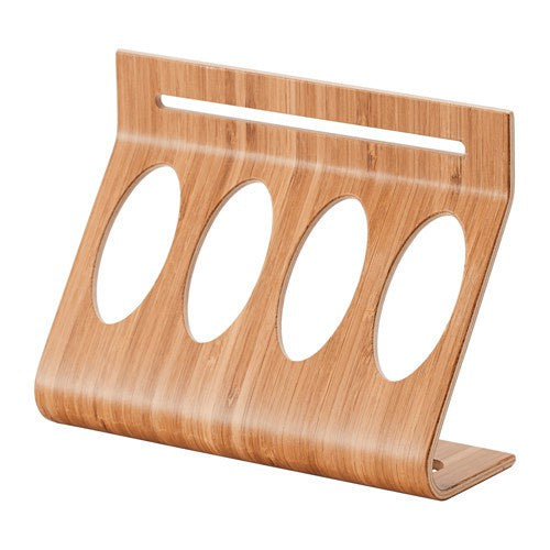 IKEA RIMFORSA HOLDER FOR TUBES 20X15CM BAMBOO