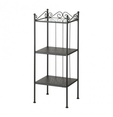 IKEA RÖNNSKÄR SHELVING UNIT 42X103CM BLACK