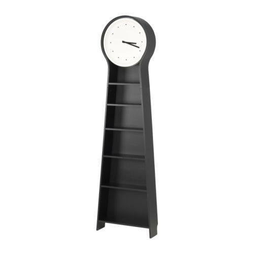 IKEA PS PENDEL FLOOR CLOCK 56X198CM BLACK