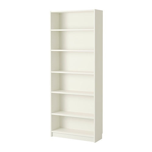 IKEA BILLY BOOKCASE WHITE 80CM x 28CM x 202CM
