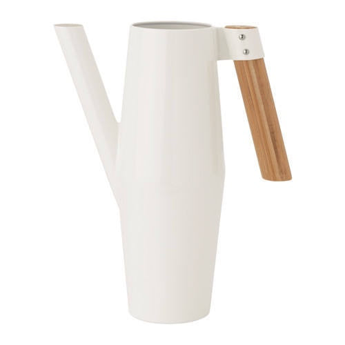 IKEA BITTERGURKA WATERING CAN 2L WHITE