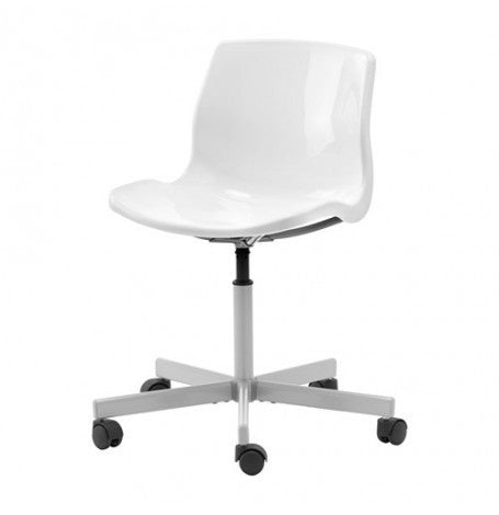 IKEA SNILLE SWIVEL CHAIR WHITE