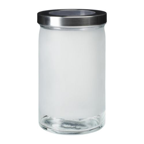 IKEA DROPPAR JAR FROSTED GLASS 1.8L