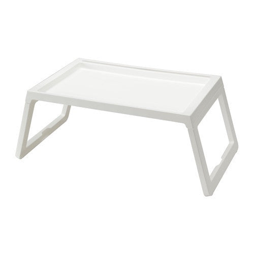 IKEA KLIPSK BED TRAY WHITE
