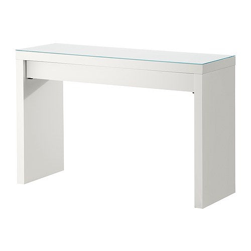 IKEA MALM DRESSING TABLE WHITE 120CM x 78CM x 41CM