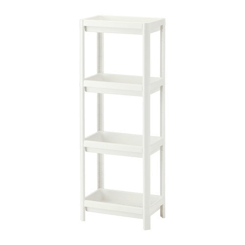 IKEA VESKEN SHELF UNIT 100X23CM WHITE