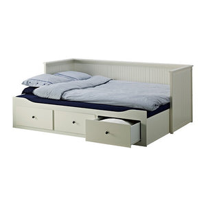 IKEA HEMNES DAY BED FRAME WITH 3 DRAWERS WHITE 200CM x 80CM