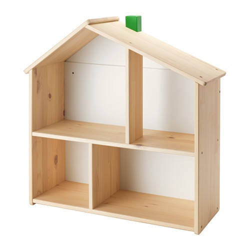 IKEA FLISAT DOLL'S HOUSE WALL SHELF