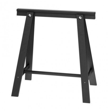 IKEA ODDVALD TRESTLE 70X70CM BLACK EACH
