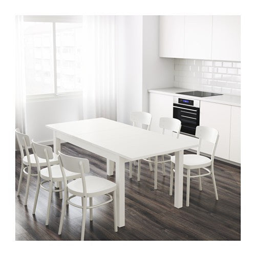IKEA BJURSTA EXTENDABLE TABLE 140-180