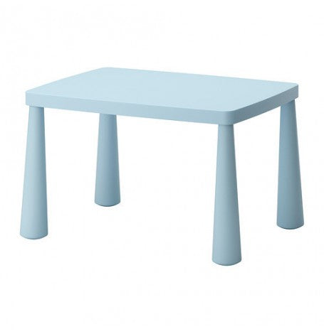 IKEA MAMMUT CHILDREN'S TABLE 77X55CM