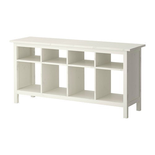IKEA HEMNES CONSOLE TABLE 157X40CM WHITE-STAIN
