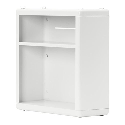 IKEA DYNAN WALL SHELF 40X15X40CM WHITE