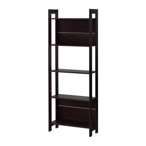 IKEA LAIVA BOOKCASE 62X165CM BLACK BROWN