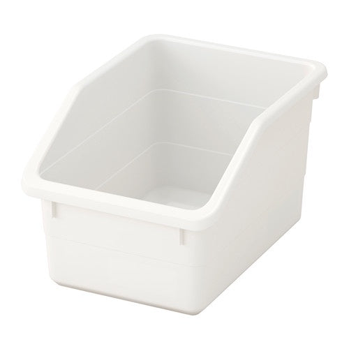 IKEA SOCKERBIT BOX 19X26X15CM WHITE
