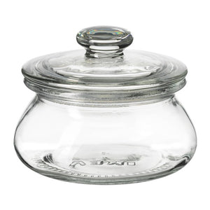 IKEA VARDAGEN GLASS JAR W/LID 300ML