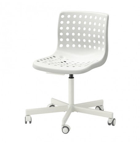 IKEA SKÅLBERG/SPORREN SWIVEL CHAIR WHITE