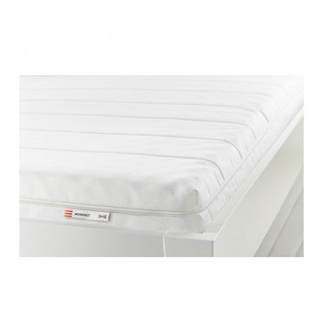 IKEA MOSHULT MATTRESS 80X200CM WHITE