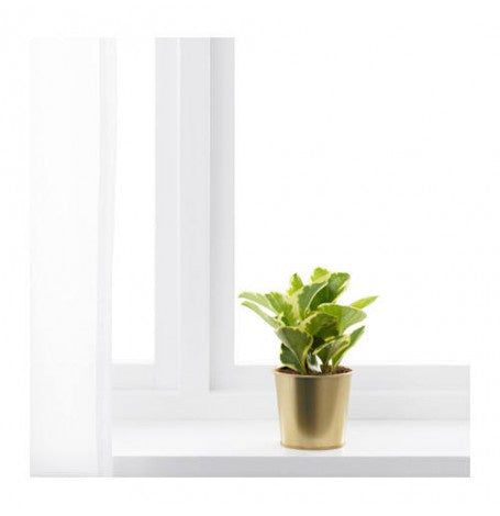 IKEA DAIDAI PLANT POT 9CM BRASS-COLOUR