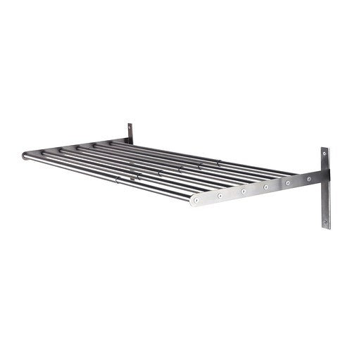 IKEA GRUNDTAL DRYING RACK WALL S/S