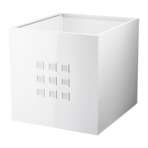 IKEA LEKMAN BOX WHITE
