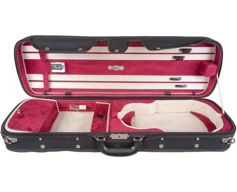 suspension wood violin case