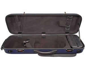 oblong wood violin case