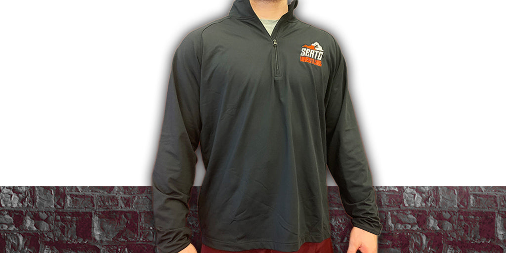 Rudis Black SERTC 1/4 Zip Jacket