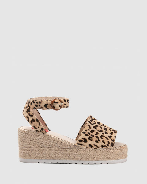 Zoe Kratzmann Candid Wedge - Navy or Leopard