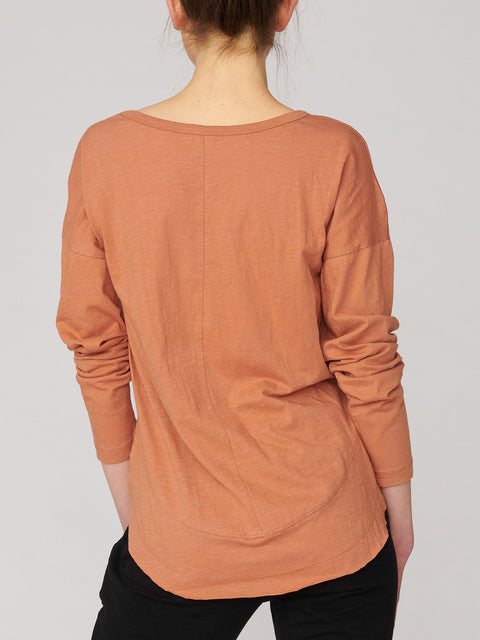 Lulu Organic Cotton Chicago Long Sleeve Tee - Impulse Boutique