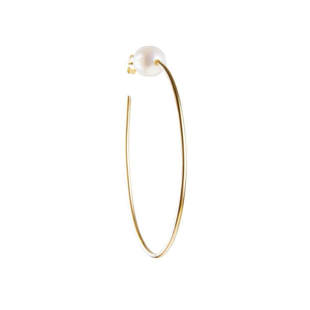 Fairley Pearl Teardrop Hoops